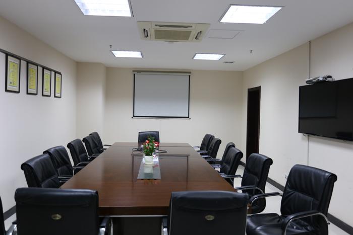 南京科進骨密度儀廠家會議室